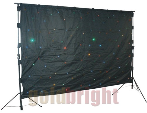 RGBW Mix LED Starcloth Curtain