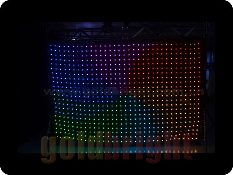 GM026 2x3m TRI Color P18 LED Vision Curtain